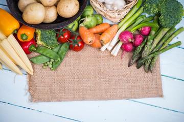 farm fresh market vegetables background