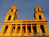 St. Sulpice Church in Paris at sunset - 73631963
