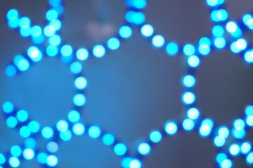 Christmas festoon, new year