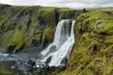 Fototapety Fagrifoss waterfall