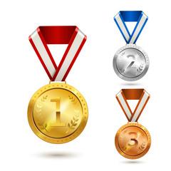 Award medals set