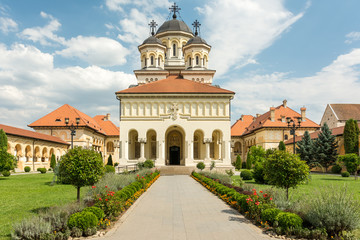 The Coronation Cathedral in The White Fortress Of Alba Iulia