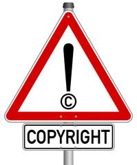 Copyright Schild  #141123-svg01