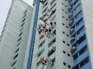 Plattenbau Arbeiterviertel