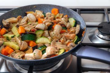 vegan food preparation