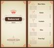 Restaurant menu template - 73638506
