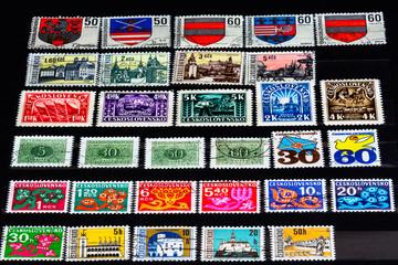 a nice view of Ceskoslovensko stamp.