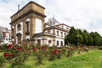 Church of San Francisco in Ferrol, Galicia, Spain