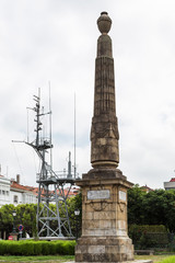 obelisk and antennas