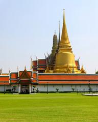 Temple of the Emerald Buddha (Wat pra kaew) in Bangkok ,Thailand