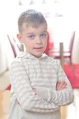 happy young boy portrait