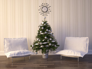 Christmas Room Interior Design