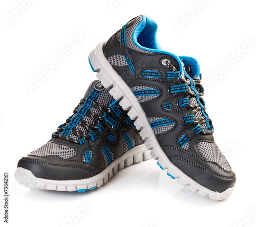 canvas print picture Running shoes