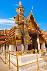 thaïlande, bangkok, palais, impérial, dvarapala