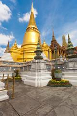 chedi d'or du palais impérial, Bangkok, Thaïlande