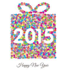 Happy new year 2015 gift