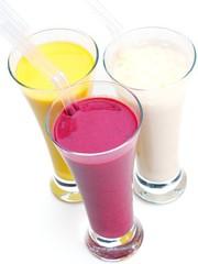 fresh fruit shake drink