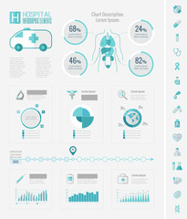 Healthcare Infographic Elements.