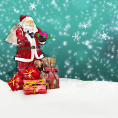 santa claus - merry christmas weihnachtsmann nikolaus