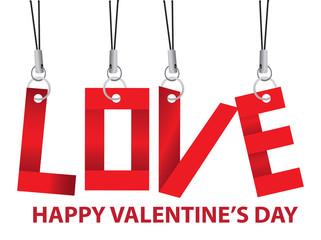 Valentines Day Love Key Chain Accessories