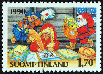 Post office of Santa Claus (Finland 1990)