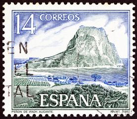 Ifach Rock, Calpe, Alicante (Spain 1987)