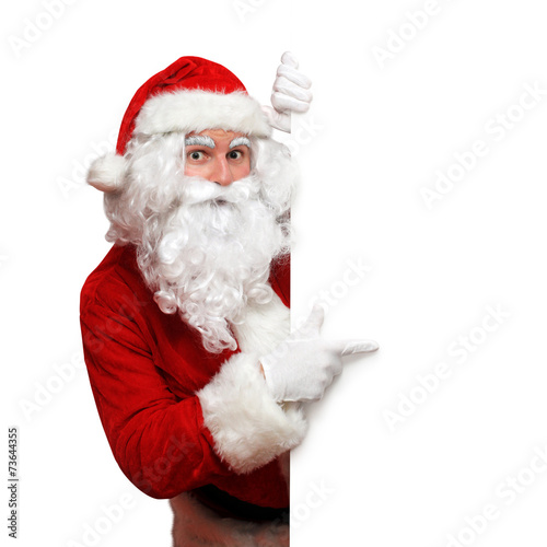 Keuken foto achterwand Uitvoering Weihnachtsmann mit Tafel