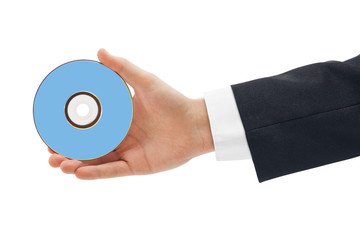Hand with disk