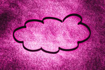 purple cloud...