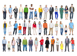 Diversity Ethnicity Multi-Ethnic Variation Togetherness Unity Te