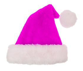 Simple santa hat isolated