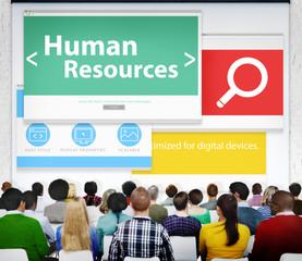 Human Resources Employment Job Recruitment Seminar Conference Co