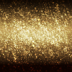 Festive Christmas and New Year bokeh background, easy all editab