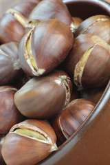 Sweet chestnuts.