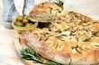 Rosemary focaccia bread © Arena Photo UK - 73650955