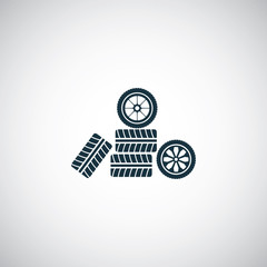 car wheel icon