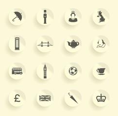 Symbols of England and London