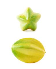 Carambola fruit artificial plastic decoration