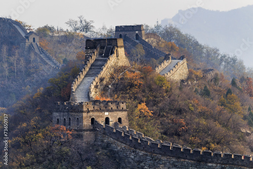 Poster Chinese Muur CN Great wall tele 3 towers