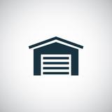 car garage icon - 73651106