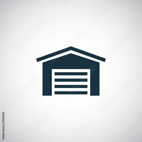 car garage icon - 73651106