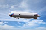 Zeppelin dirigible airship