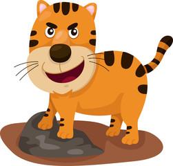 Illustrator of tiger