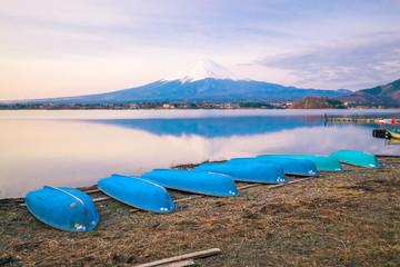 The mount Fuji in Japan