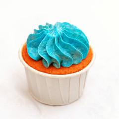 Sweet holiday buffet  cupcake close-up