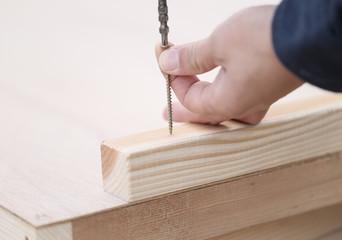木材とビス