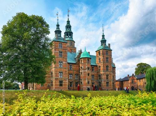 Póster Castillo de Rosenborg en Copenhague.