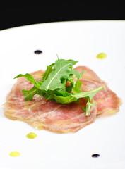 Beef carpaccio / Fine dining