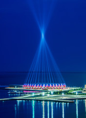 Baku - JUNE 11, 2014: Crystal Hall on June 11 in Azerbaijan, Bak