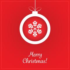 Christmas Greeting Card - Christmas Ball